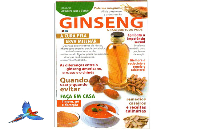 Ginseng  Natural Health Food cover of magazine