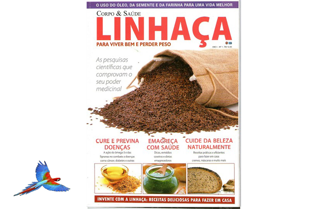 Linseed Natural Health Food picture cover of magazine