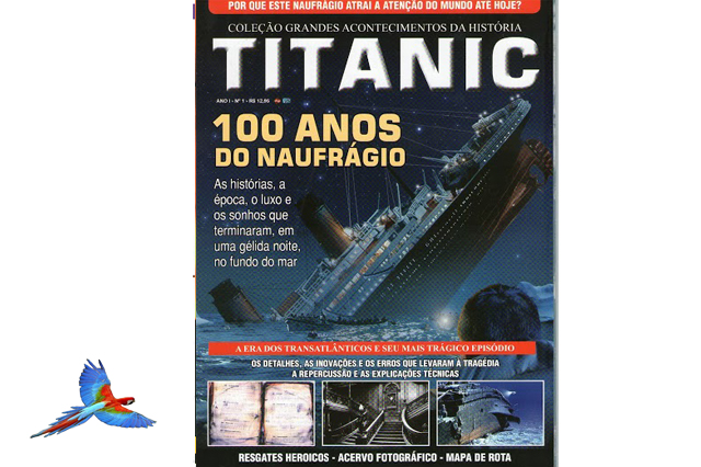 Titanic Vessel picture cover of magazine